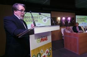 """Presentación de la VII campaña '100.000 kilos de ilusión', de la Fundación MAS, en la Fundación Cajasol (4) • <a style=""""font-size:0.8em;"""" href=""""http://www.flickr.com/photos/129072575@N05/31500914381/"""" target=""""_blank"""">View on Flickr</a>"""