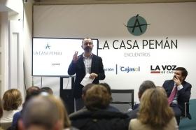 "'Encuentros en la Casa Pemán' con Rafael Santandreu (9) • <a style=""font-size:0.8em;"" href=""http://www.flickr.com/photos/129072575@N05/31616815755/"" target=""_blank"">View on Flickr</a>"