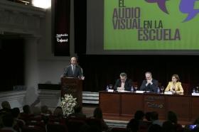 "I Premios Andaluces 'El Audiovisual en la Escuela' en la Fundación Cajasol (8) • <a style=""font-size:0.8em;"" href=""http://www.flickr.com/photos/129072575@N05/17872935093/"" target=""_blank"">View on Flickr</a>"