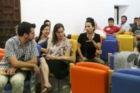 """Clausura del curso 'El compás del tiempo del baile Flamenco' de la Universidad Pablo de Olavide (8) • <a style=""""font-size:0.8em;"""" href=""""http://www.flickr.com/photos/129072575@N05/19922496531/"""" target=""""_blank"""">View on Flickr</a>"""