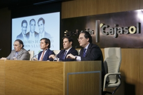 "Mesa redonda 'Los valores del toreo aplicados a la empresa' (13) • <a style=""font-size:0.8em;"" href=""http://www.flickr.com/photos/129072575@N05/32872381496/"" target=""_blank"">View on Flickr</a>"