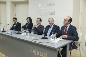"""Entrega del VII Premio Ángel Olavarría en la Fundación Cajasol (3) • <a style=""""font-size:0.8em;"""" href=""""http://www.flickr.com/photos/129072575@N05/32759055562/"""" target=""""_blank"""">View on Flickr</a>"""