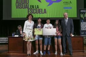 "I Premios Andaluces 'El Audiovisual en la Escuela' en la Fundación Cajasol (18) • <a style=""font-size:0.8em;"" href=""http://www.flickr.com/photos/129072575@N05/17870932054/"" target=""_blank"">View on Flickr</a>"