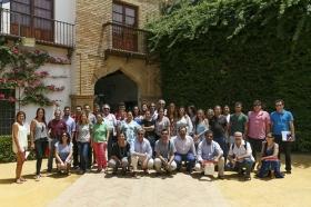 """Clausura del curso 'El compás del tiempo del baile Flamenco' de la Universidad Pablo de Olavide (2) • <a style=""""font-size:0.8em;"""" href=""""http://www.flickr.com/photos/129072575@N05/19296446303/"""" target=""""_blank"""">View on Flickr</a>"""