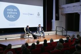 "Aula Cultura ABC de Sevilla: Alfonso Sánchez (5) • <a style=""font-size:0.8em;"" href=""http://www.flickr.com/photos/129072575@N05/33265215566/"" target=""_blank"">View on Flickr</a>"
