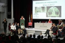 """Entrega de las Banderas de Andalucía de Sevilla 2017 en la Fundación Cajasol (23) • <a style=""""font-size:0.8em;"""" href=""""http://www.flickr.com/photos/129072575@N05/32742028280/"""" target=""""_blank"""">View on Flickr</a>"""