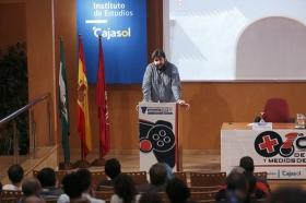 """'I Cumbre de Videojuegos y Medios de Comunicación' (2) • <a style=""""font-size:0.8em;"""" href=""""http://www.flickr.com/photos/129072575@N05/22027818579/"""" target=""""_blank"""">View on Flickr</a>"""