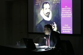 """Conferencia de José Roda Peña: 'La escultura sevillana en tiempos de Martínez Montañés' (5) • <a style=""""font-size:0.8em;"""" href=""""http://www.flickr.com/photos/129072575@N05/40981665222/"""" target=""""_blank"""">View on Flickr</a>"""