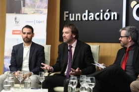 "II Foro Emprendedores Andalucía: 'Eficiencia de las PYMES y STARTUPS en la Era Digital' en Sevilla (3) • <a style=""font-size:0.8em;"" href=""http://www.flickr.com/photos/129072575@N05/27376765838/"" target=""_blank"">View on Flickr</a>"