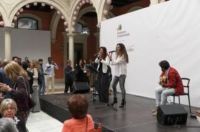 """Preludio solidario de Feria de Sevilla 2016 en la Fundación Cajasol (9) • <a style=""""font-size:0.8em;"""" href=""""http://www.flickr.com/photos/129072575@N05/26314669206/"""" target=""""_blank"""">View on Flickr</a>"""