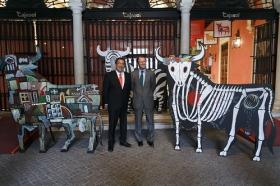 """Exposición 'El Toro de Osborne: Icono del diseño español' (4) • <a style=""""font-size:0.8em;"""" href=""""http://www.flickr.com/photos/129072575@N05/25779776484/"""" target=""""_blank"""">View on Flickr</a>"""