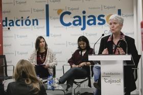 "Conferencia de Inger Enkvist en la Fundación Cajasol (Cádiz) (7) • <a style=""font-size:0.8em;"" href=""http://www.flickr.com/photos/129072575@N05/24514422012/"" target=""_blank"">View on Flickr</a>"