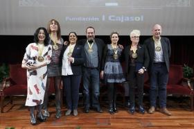 """Entrega de los V Premios por la Igualdad Adriano Antinoo en la Fundación Cajasol (2) • <a style=""""font-size:0.8em;"""" href=""""http://www.flickr.com/photos/129072575@N05/25478448190/"""" target=""""_blank"""">View on Flickr</a>"""