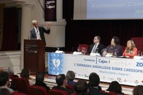 "I Jornadas Andaluzas sobre Cardioprotección (10) • <a style=""font-size:0.8em;"" href=""http://www.flickr.com/photos/129072575@N05/24892222475/"" target=""_blank"">View on Flickr</a>"