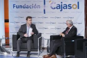"Entrevista a Manuel Jiménez Barrios en 'Con Acento Andaluz' desde la Fundación Cajasol (13) • <a style=""font-size:0.8em;"" href=""http://www.flickr.com/photos/129072575@N05/25210927355/"" target=""_blank"">View on Flickr</a>"