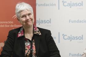 "Conferencia de Inger Enkvist en la Fundación Cajasol (Cádiz) (13) • <a style=""font-size:0.8em;"" href=""http://www.flickr.com/photos/129072575@N05/23995970923/"" target=""_blank"">View on Flickr</a>"