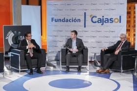 "Entrevista a Manuel Jiménez Barrios en 'Con Acento Andaluz' desde la Fundación Cajasol (17) • <a style=""font-size:0.8em;"" href=""http://www.flickr.com/photos/129072575@N05/24843245019/"" target=""_blank"">View on Flickr</a>"
