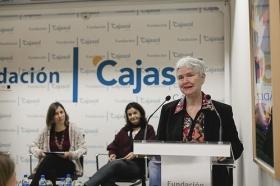 "Conferencia de Inger Enkvist en la Fundación Cajasol (Cádiz) (9) • <a style=""font-size:0.8em;"" href=""http://www.flickr.com/photos/129072575@N05/23994628904/"" target=""_blank"">View on Flickr</a>"