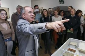 """Exposición 'El Universo de Julio Cortázar' en la Fundación Cajasol (2) • <a style=""""font-size:0.8em;"""" href=""""http://www.flickr.com/photos/129072575@N05/33446517492/"""" target=""""_blank"""">View on Flickr</a>"""