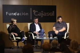 """Mesa redonda 'Cuando la cocina es una fiesta' en la Fundación Cajasol (7) • <a style=""""font-size:0.8em;"""" href=""""http://www.flickr.com/photos/129072575@N05/34345439236/"""" target=""""_blank"""">View on Flickr</a>"""