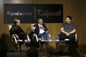 """Mesa redonda 'Cuando la cocina es una fiesta' en la Fundación Cajasol (4) • <a style=""""font-size:0.8em;"""" href=""""http://www.flickr.com/photos/129072575@N05/33576237953/"""" target=""""_blank"""">View on Flickr</a>"""