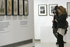 """Exposición 'El Universo de Julio Cortázar' en la Fundación Cajasol (10) • <a style=""""font-size:0.8em;"""" href=""""http://www.flickr.com/photos/129072575@N05/33446518912/"""" target=""""_blank"""">View on Flickr</a>"""