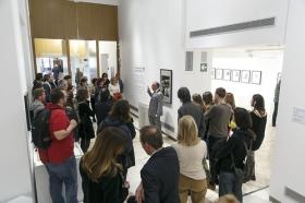 """Exposición 'El Universo de Julio Cortázar' en la Fundación Cajasol (8) • <a style=""""font-size:0.8em;"""" href=""""http://www.flickr.com/photos/129072575@N05/33446518592/"""" target=""""_blank"""">View on Flickr</a>"""