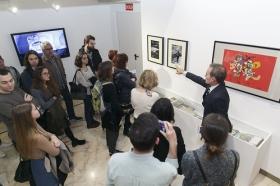 """Exposición 'El Universo de Julio Cortázar' en la Fundación Cajasol (3) • <a style=""""font-size:0.8em;"""" href=""""http://www.flickr.com/photos/129072575@N05/32760647934/"""" target=""""_blank"""">View on Flickr</a>"""