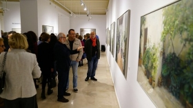 "Exposición de pintura de Fermín G. Villaescusa en la Fundación Cajasol (Cádiz) (2) • <a style=""font-size:0.8em;"" href=""http://www.flickr.com/photos/129072575@N05/32524723003/"" target=""_blank"">View on Flickr</a>"