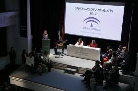 """Entrega de las Banderas de Andalucía de Sevilla 2017 en la Fundación Cajasol (5) • <a style=""""font-size:0.8em;"""" href=""""http://www.flickr.com/photos/129072575@N05/32279404544/"""" target=""""_blank"""">View on Flickr</a>"""