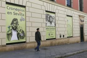 """Exposición 'El Universo de Julio Cortázar' en la Fundación Cajasol (13) • <a style=""""font-size:0.8em;"""" href=""""http://www.flickr.com/photos/129072575@N05/32760645374/"""" target=""""_blank"""">View on Flickr</a>"""