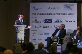 """XVII Jornadas Aeronáuticas con entrega de los Premios Valores de Excelencia desde la Fundación Cajasol (11) • <a style=""""font-size:0.8em;"""" href=""""http://www.flickr.com/photos/129072575@N05/33869923534/"""" target=""""_blank"""">View on Flickr</a>"""