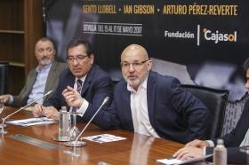 """Presentación de 'Letras en Sevilla' en la Fundación Cajasol (8) • <a style=""""font-size:0.8em;"""" href=""""http://www.flickr.com/photos/129072575@N05/34611739475/"""" target=""""_blank"""">View on Flickr</a>"""
