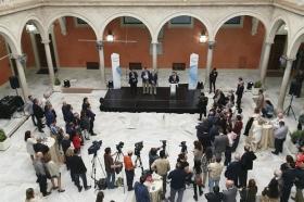 """Presentación del disco 'Por sevillanas' en la Fundación Cajasol (10) • <a style=""""font-size:0.8em;"""" href=""""http://www.flickr.com/photos/129072575@N05/33591769083/"""" target=""""_blank"""">View on Flickr</a>"""