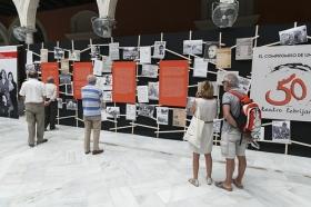 """Exposición 'El compromiso de un pueblo. 50 años de Teatro Lebrijano' en la Fundación Cajasol (6) • <a style=""""font-size:0.8em;"""" href=""""http://www.flickr.com/photos/129072575@N05/34748763591/"""" target=""""_blank"""">View on Flickr</a>"""