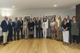 """Seminario 'Itálica en-clave de Patrimonio Mundial' desde la Fundación Cajasol • <a style=""""font-size:0.8em;"""" href=""""http://www.flickr.com/photos/129072575@N05/34988895206/"""" target=""""_blank"""">View on Flickr</a>"""