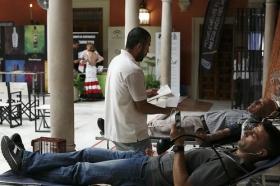 """Maratón de Donación de Sangre en Fundación Cajasol (8) • <a style=""""font-size:0.8em;"""" href=""""http://www.flickr.com/photos/129072575@N05/35134363622/"""" target=""""_blank"""">View on Flickr</a>"""