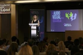 """Entrega de los III Premios 'El Audiovisual en la Escuela' en la Fundación Cajasol (2) • <a style=""""font-size:0.8em;"""" href=""""http://www.flickr.com/photos/129072575@N05/35439974295/"""" target=""""_blank"""">View on Flickr</a>"""