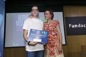 """Entrega de los III Premios 'El Audiovisual en la Escuela' en la Fundación Cajasol (9) • <a style=""""font-size:0.8em;"""" href=""""http://www.flickr.com/photos/129072575@N05/35400221626/"""" target=""""_blank"""">View on Flickr</a>"""