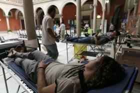 """Maratón de Donación de Sangre en Fundación Cajasol (9) • <a style=""""font-size:0.8em;"""" href=""""http://www.flickr.com/photos/129072575@N05/35134363722/"""" target=""""_blank"""">View on Flickr</a>"""