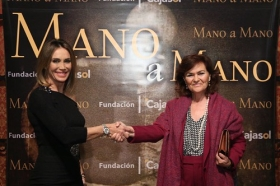 "Mano a Mano: Cristina Sánchez y Carmen Calvo • <a style=""font-size:0.8em;"" href=""http://www.flickr.com/photos/129072575@N05/37679298895/"" target=""_blank"">View on Flickr</a>"