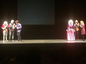 "Teatro Blanca Marsillach en Punta Umbría (4) • <a style=""font-size:0.8em;"" href=""http://www.flickr.com/photos/129072575@N05/37837510305/"" target=""_blank"">View on Flickr</a>"