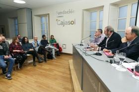 """Entrega de premios del V Concurso de relatos literarios 'Alberto Fernández Ballesteros' en la Fundación Cajasol (6) • <a style=""""font-size:0.8em;"""" href=""""http://www.flickr.com/photos/129072575@N05/38412493161/"""" target=""""_blank"""">View on Flickr</a>"""