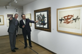 """Exposicion 'Obra Gráfica de la Colección de la Fundación Cajasol' en Sevilla (2) • <a style=""""font-size:0.8em;"""" href=""""http://www.flickr.com/photos/129072575@N05/38249898202/"""" target=""""_blank"""">View on Flickr</a>"""