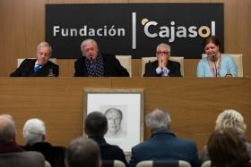"""Homenaje del Foro Andaluz Nueva Sociedad a la figura de Arturo Moya en la Fundación Cajasol (8) • <a style=""""font-size:0.8em;"""" href=""""http://www.flickr.com/photos/129072575@N05/27270236979/"""" target=""""_blank"""">View on Flickr</a>"""