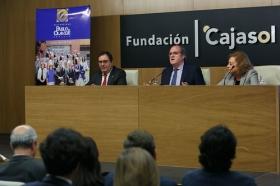 "Conferencia de Ángel Gabilondo en la Fundación Cajasol (5) • <a style=""font-size:0.8em;"" href=""http://www.flickr.com/photos/129072575@N05/38129091104/"" target=""_blank"">View on Flickr</a>"