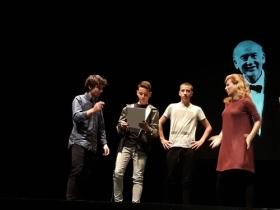 "Teatro Blanca Marsillach en Punta Umbría • <a style=""font-size:0.8em;"" href=""http://www.flickr.com/photos/129072575@N05/38692923792/"" target=""_blank"">View on Flickr</a>"