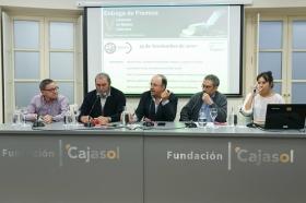 """Entrega de premios del V Concurso de relatos literarios 'Alberto Fernández Ballesteros' en la Fundación Cajasol (2) • <a style=""""font-size:0.8em;"""" href=""""http://www.flickr.com/photos/129072575@N05/37698164294/"""" target=""""_blank"""">View on Flickr</a>"""