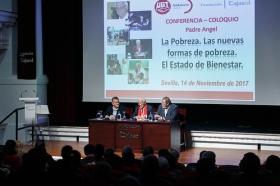 "Conferencia del Padre Ángel en la Fundación Cajasol (10) • <a style=""font-size:0.8em;"" href=""http://www.flickr.com/photos/129072575@N05/38385081456/"" target=""_blank"">View on Flickr</a>"