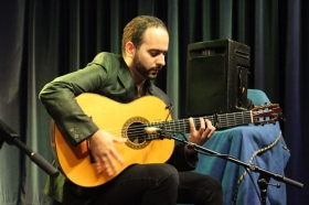 "XII Ciclo Jóvenes Flamencos en Huelva 2017: Israel Moro y Almudena Domínguez (11) • <a style=""font-size:0.8em;"" href=""http://www.flickr.com/photos/129072575@N05/38249900122/"" target=""_blank"">View on Flickr</a>"